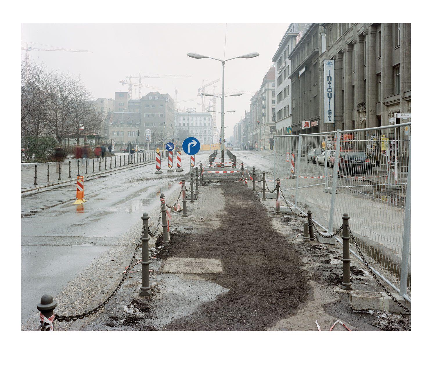 Stadt #05, Friedrichstrasse, 1995