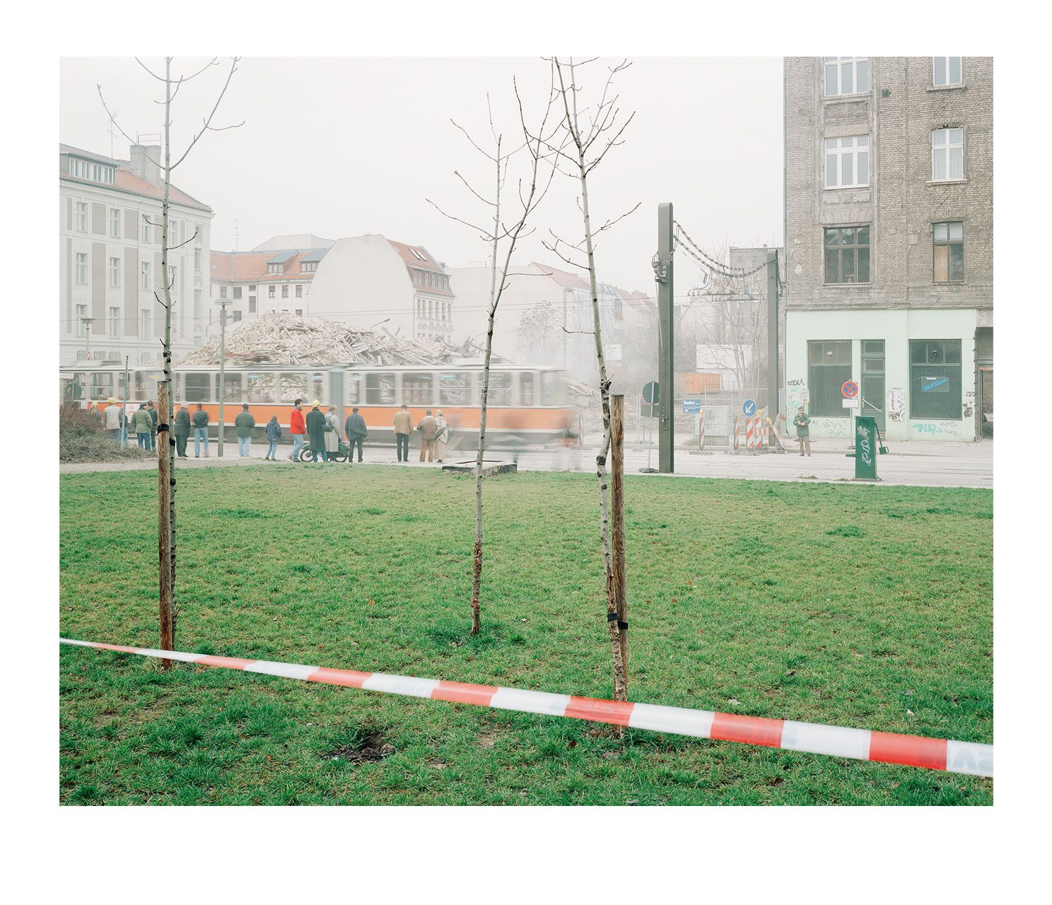 Stadt #09, Alte Schönhauser Strasse, 1995