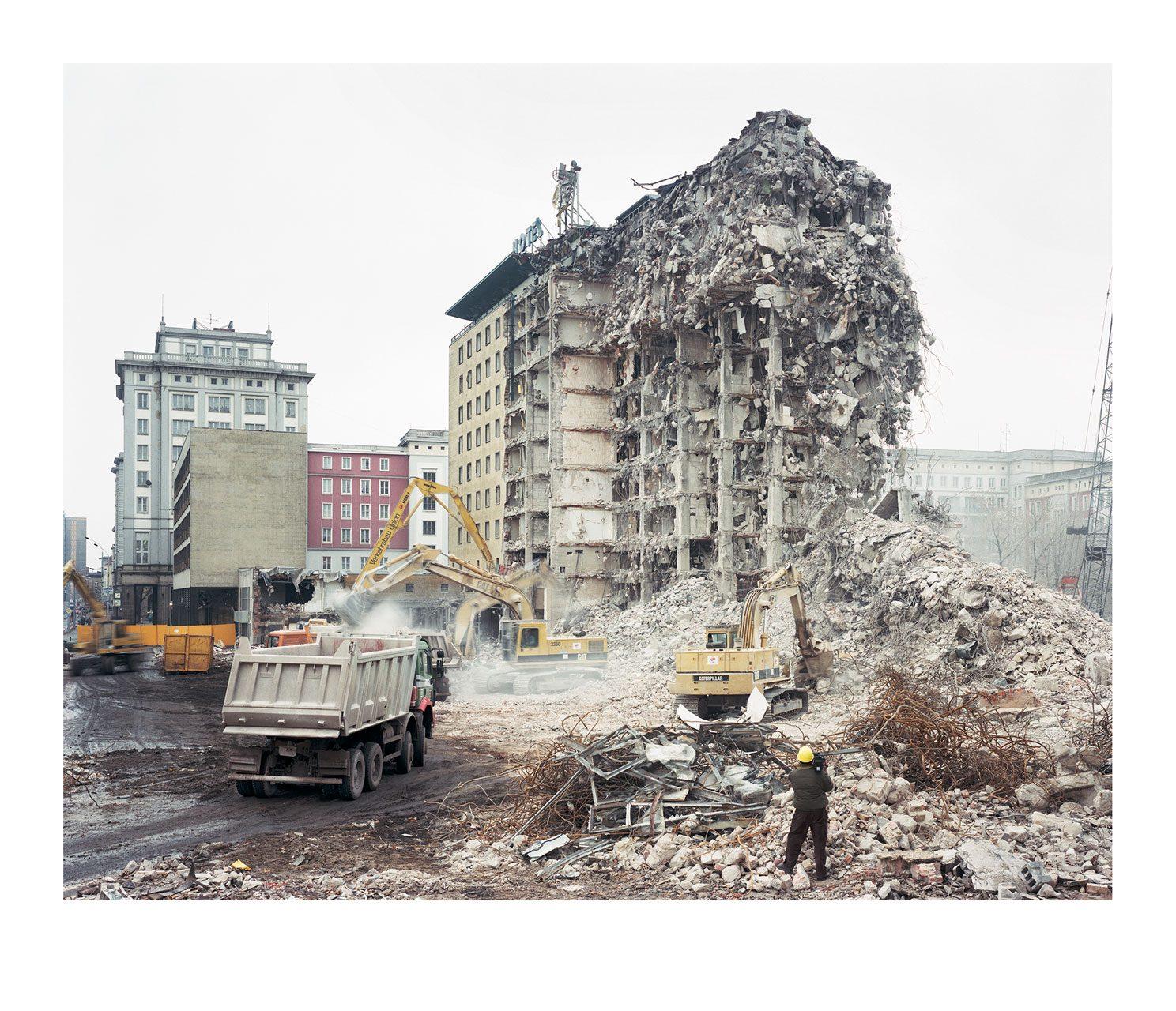 Stadt #04, Abriss, Interhotel, 1994