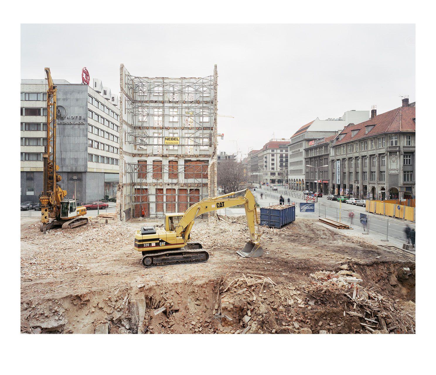 Stadt #12, Baustelle Dussmann, 1995