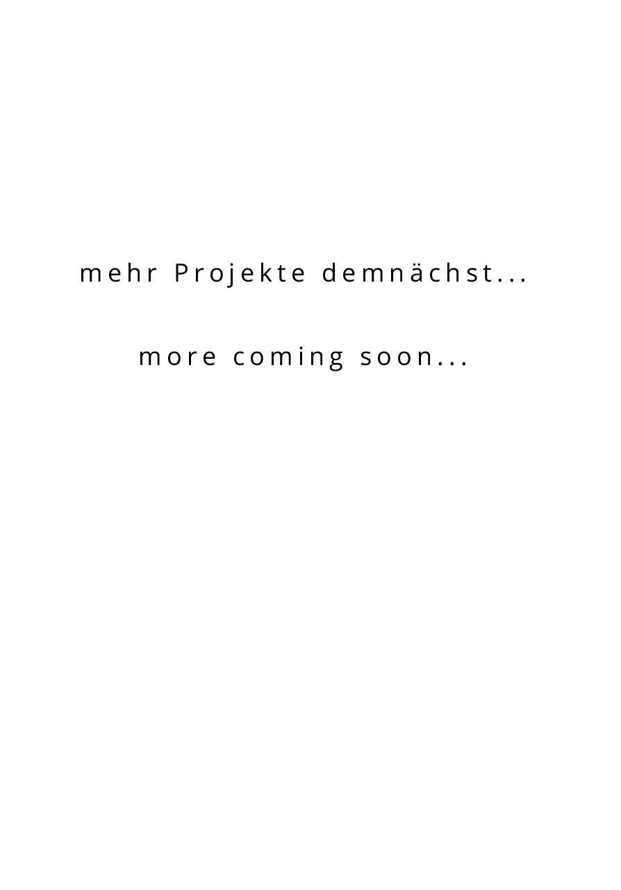 mehr Projekte demnächst…